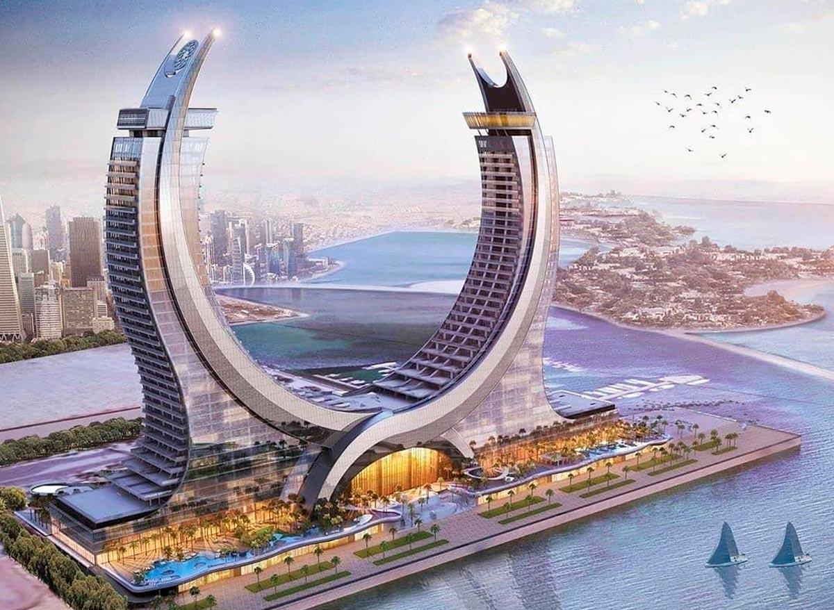 Katara Towers, Lusail Marina District, Qatar